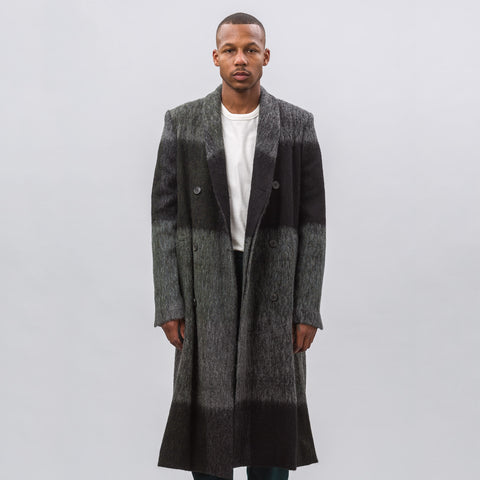 Stephan Schneider Realist Coat in Geometric Brushed Wool - Notre