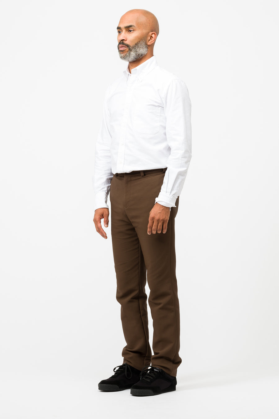 Stephan Schneider Target Trousers in Brown - Notre