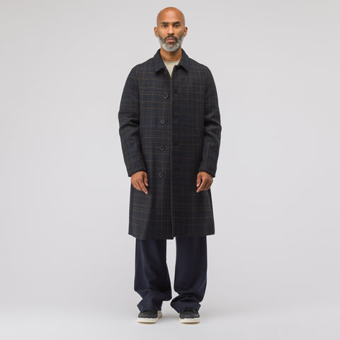 Stephan Schneider Weave Wool Coat in Checks - Notre