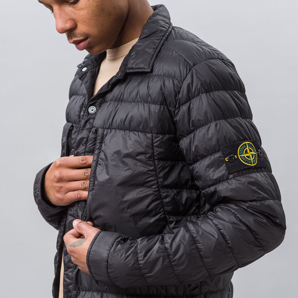 Stone Island 10324 Garment Dyed Down Jacket in Black - Notre