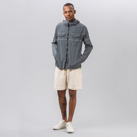 Stone Island Marina Striped Nylon Metal Jacket - Notre