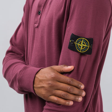Stone Island 20845 Polo in Burgundy - Notre
