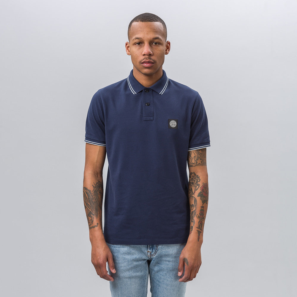 Stone Island 22S18 Polo Shirt in Navy - Notre