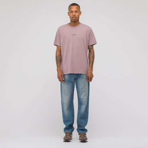 Stone Island 2NS81 T-Shirt in Rose Quartz - Notre