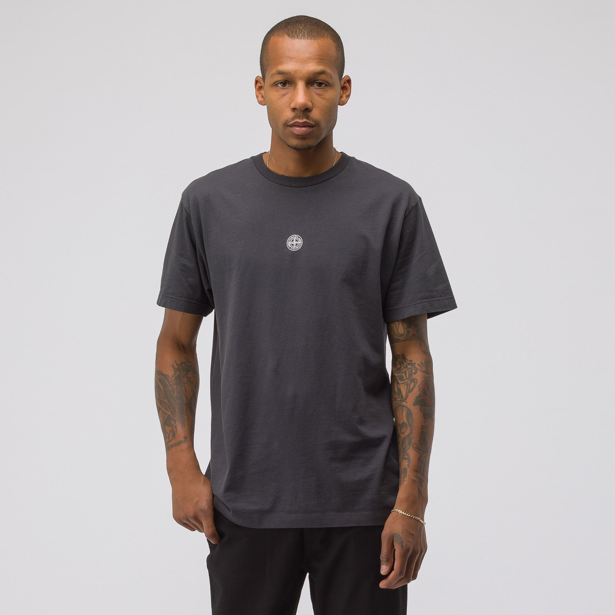 2NS85 T-Shirt in Charcoal