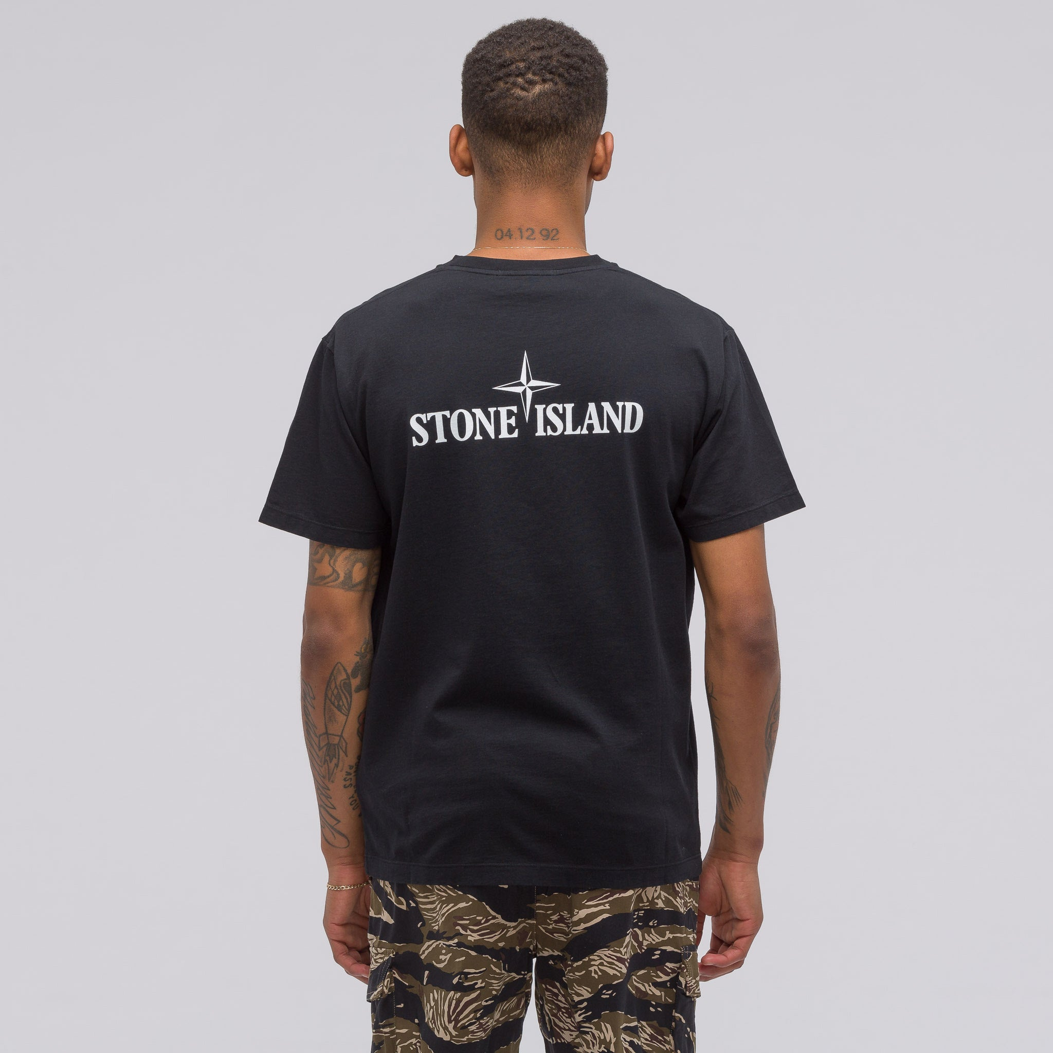 2NS93 T-Shirt in Black