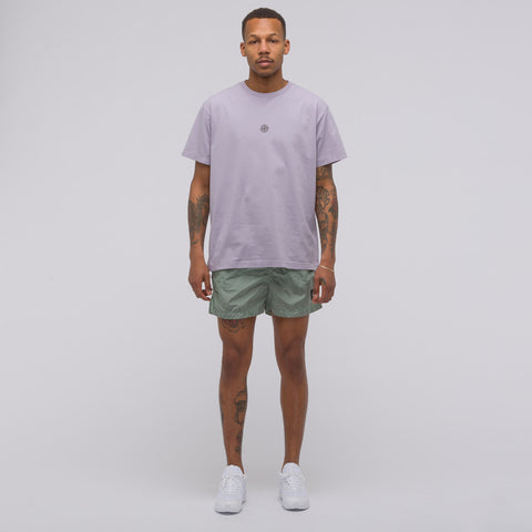 Stone Island 2NS93 Logo T-Shirt in Lavender - Notre
