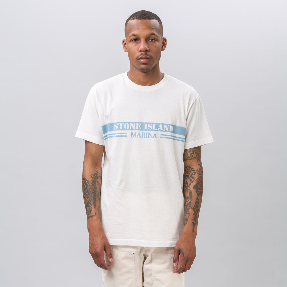 Stone Island 2NSXE T-Shirt in Blue - Notre