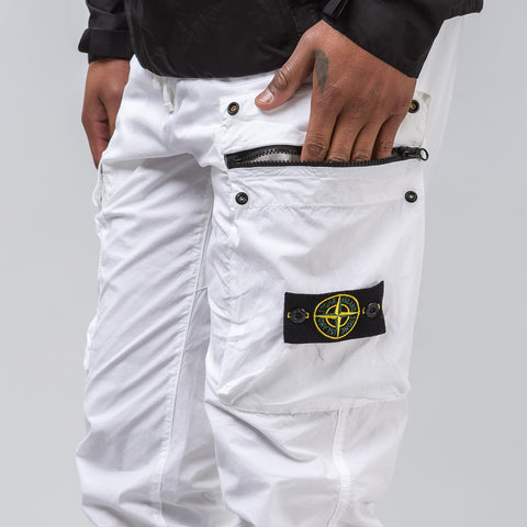 Stone Island 30703 Cargo Pants in White - Notre