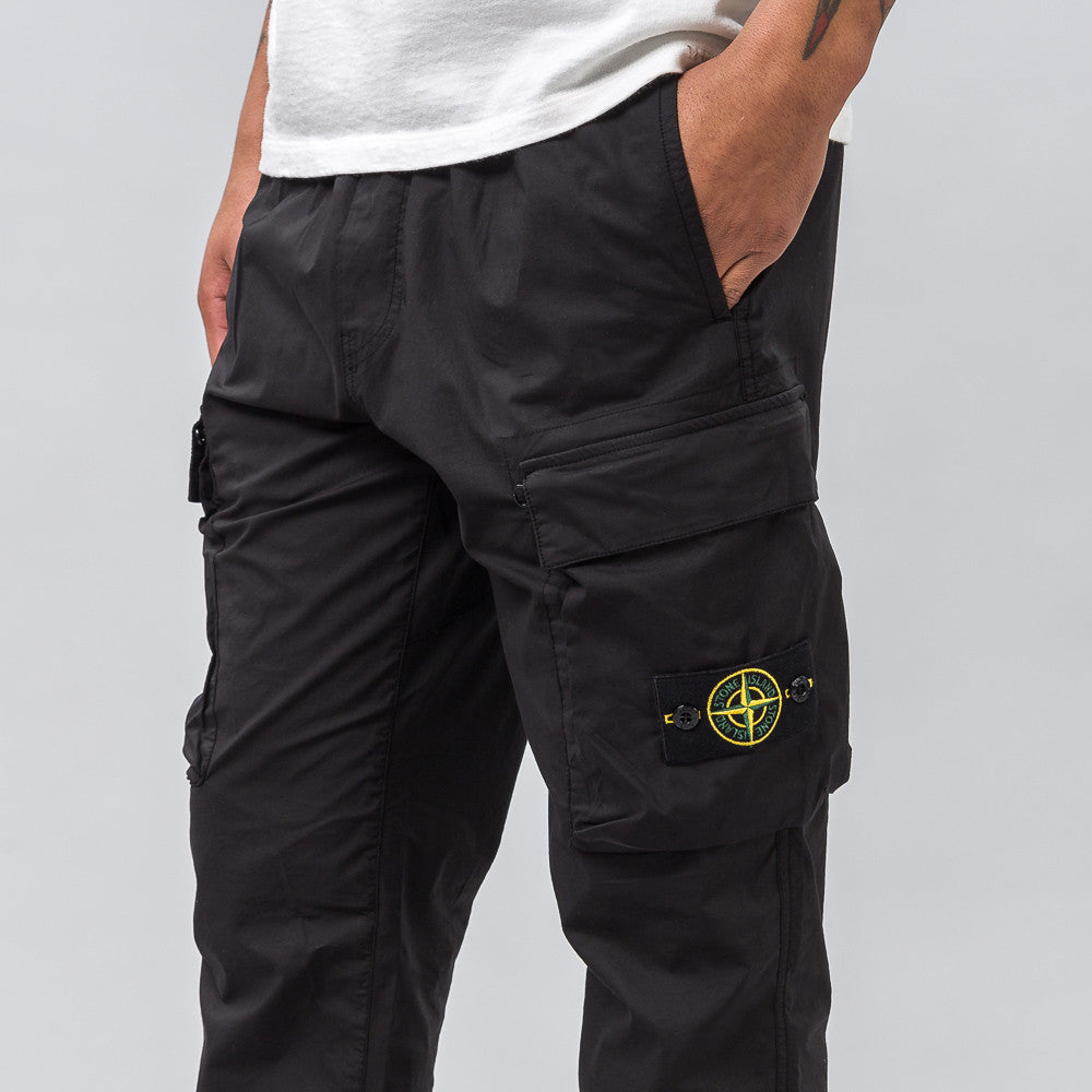 Stone Island 30703 Cargo Pant in Black - Notre