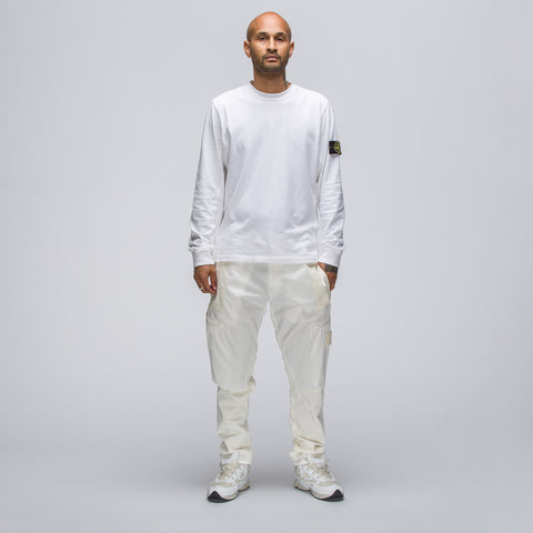 Stone Island 30909 Ghost Patch Cargo Pant in White - Notre