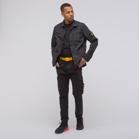 Stone Island 314WA TC+OLD Cargo Pant in Black - Notre