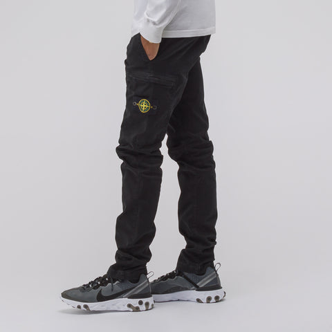 Stone Island 321LN Cargo Pant in Black - Notre
