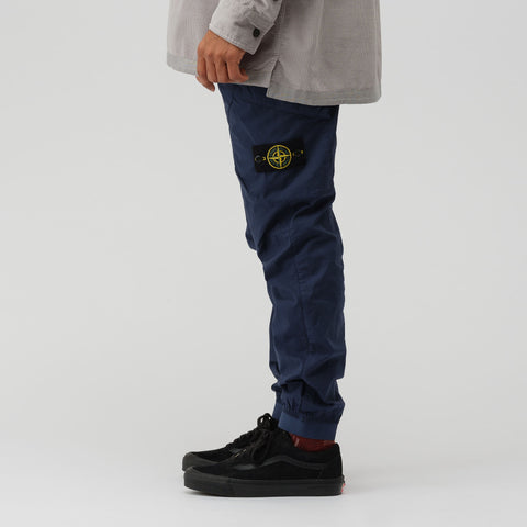 Stone Island 32203 Cargo Pant in Marine Blue - Notre