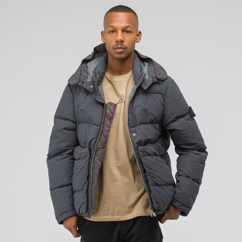 Stone Island Shadow Project 40502 Naslan Light Coat in Charcoal - Notre