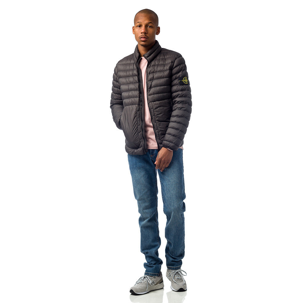 Stone Island - 40724 Garment Dyed Packable Down Jacket in Charcoal - Notre - 1