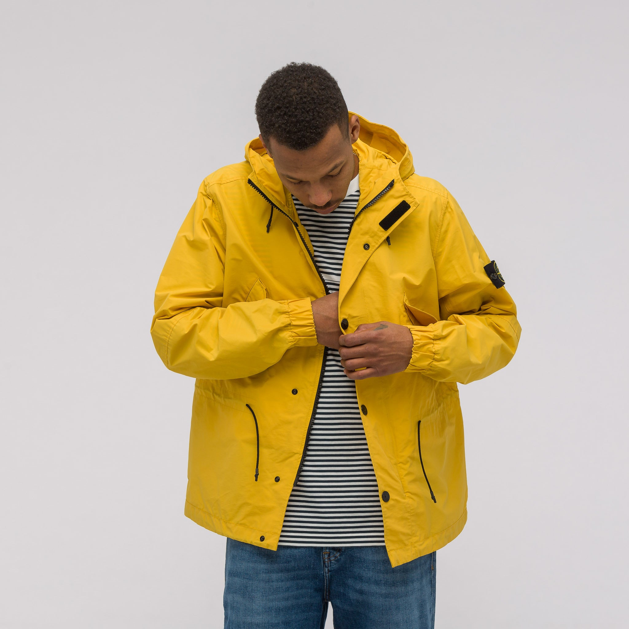 41322 Micro Reps Jacket in Yellow