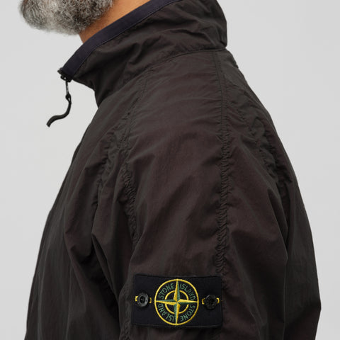 Stone Island 42031 Lamy Velour Jacket in Black - Notre
