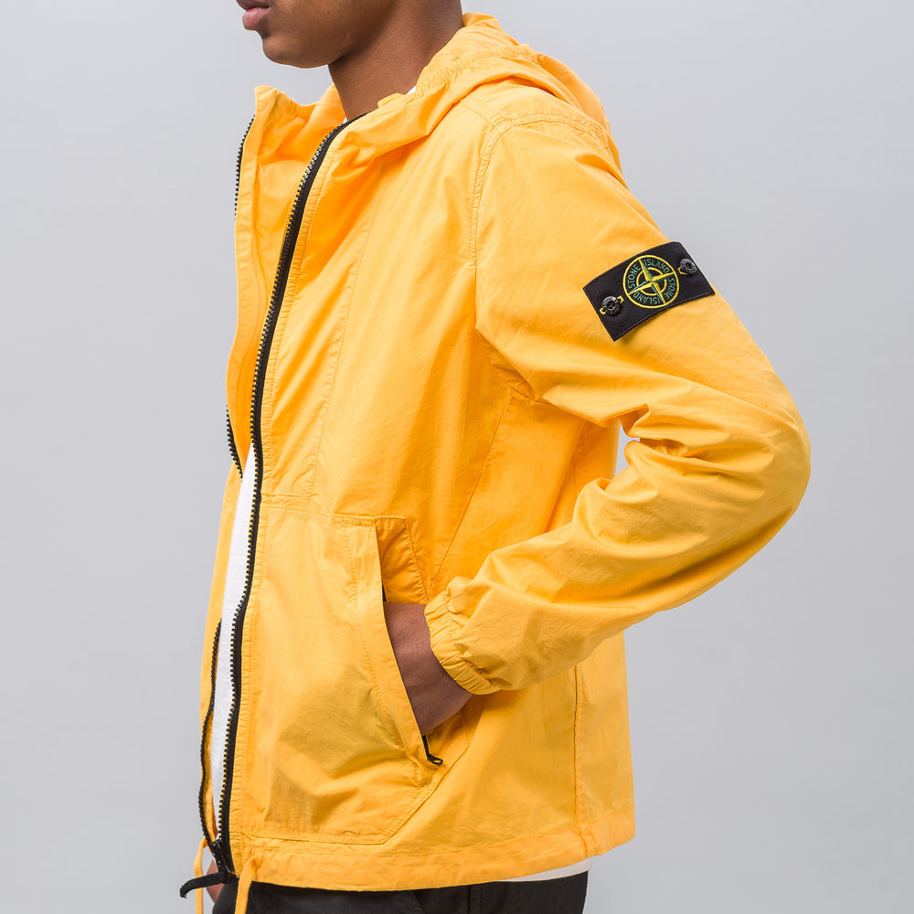 Stone Island 43503 Tela Paracadute Jacket in Yellow - Notre
