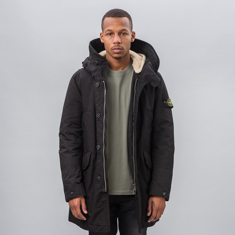 Stone Island 44549 David-TC Jacket in Black - Notre