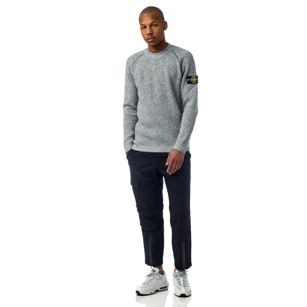 Stone Island - 518D1 Maglia Reversible Sweater in Grey - Notre - 1