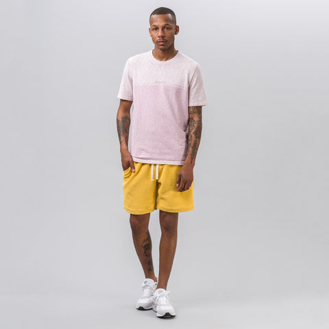 Stone Island Short Sleeve Marina T-Shirt in Pink Quartz - Notre