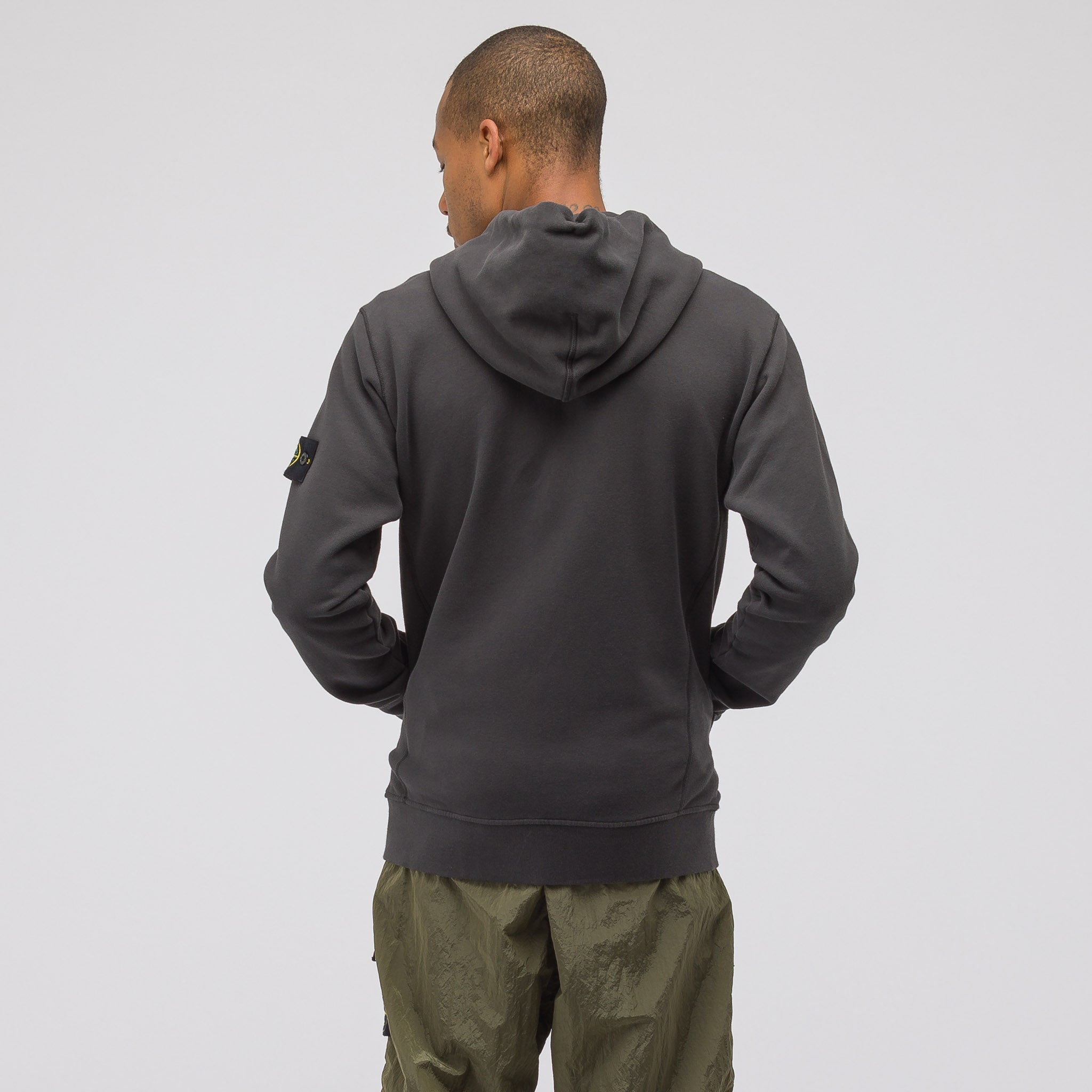 60220 Zip-Up Sweatshirt in Dark Grey