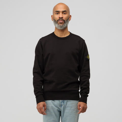Stone Island 62150 Crewneck T-Shirt in Black - Notre