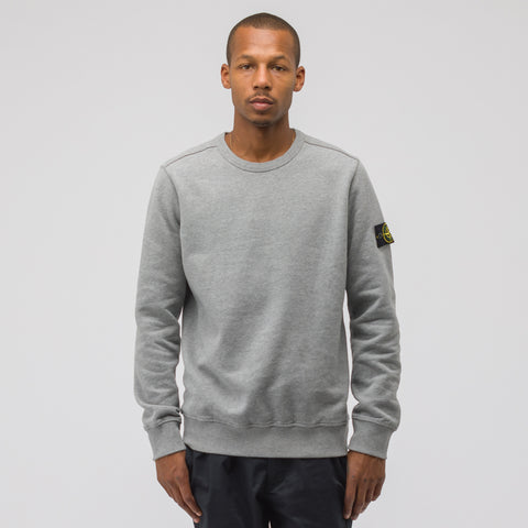 Stone Island 62720 Crewneck Sweatshirt in Light Grey - Notre