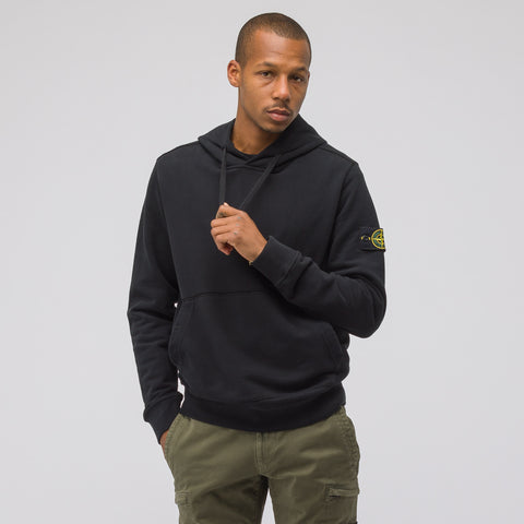 Stone Island 62820 Hooded Sweatshirt in Black - Notre