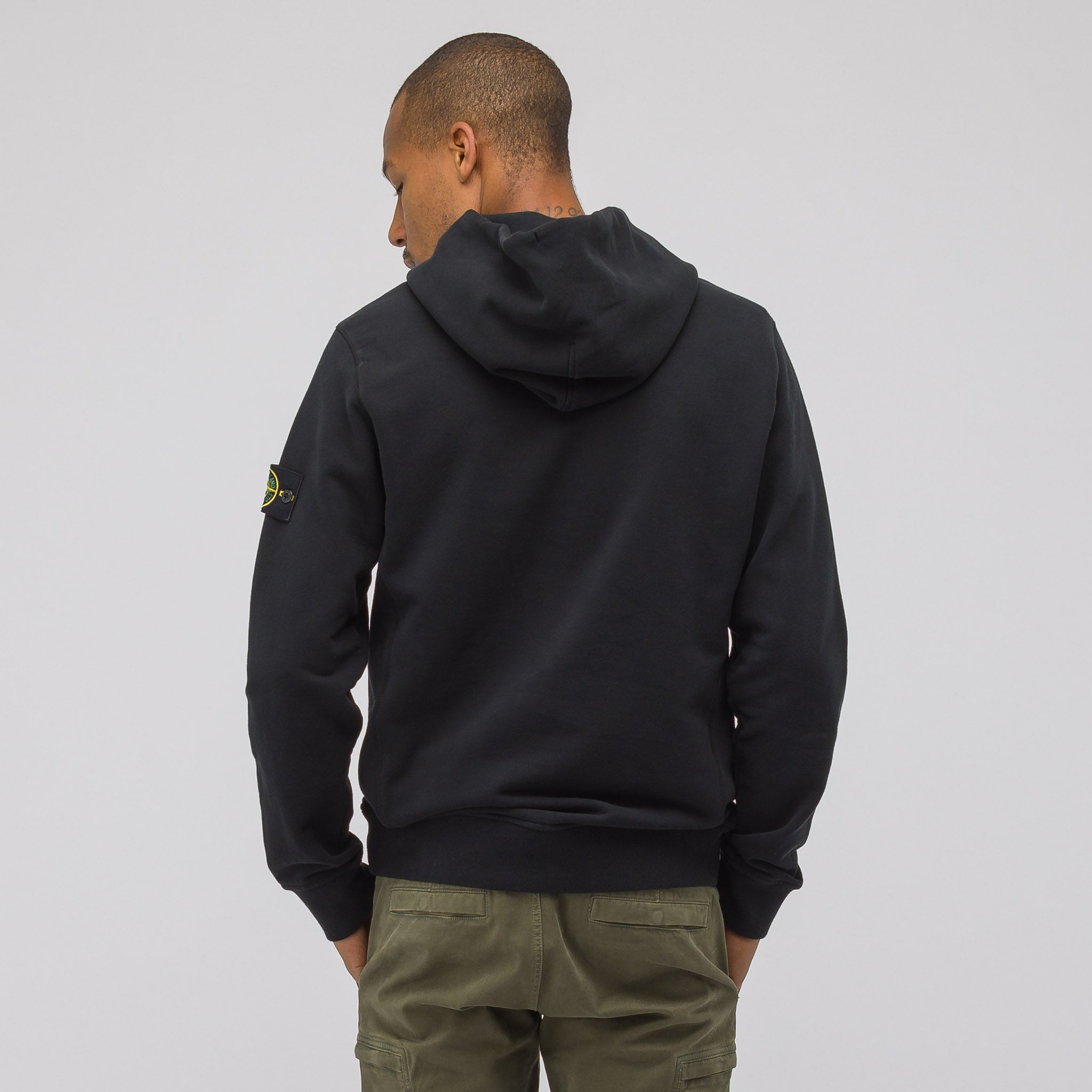 62820 Hooded Sweatshirt in Black