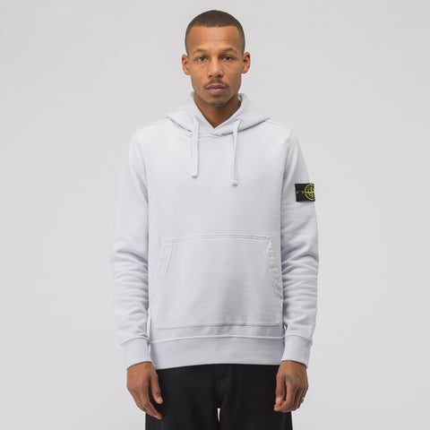 Stone Island 62820 Hooded Sweatshirt in Ice - Notre