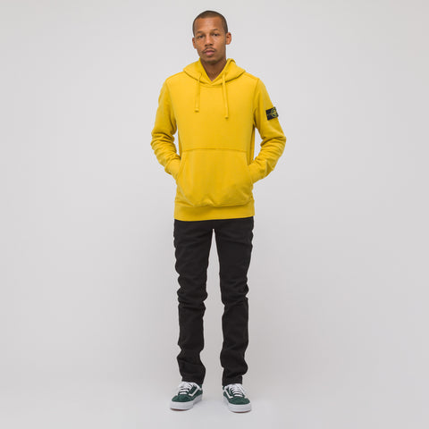Stone Island 62820 Hooded Sweatshirt in Mustard - Notre