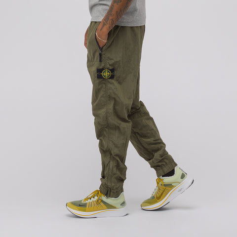 Stone Island 64212 Track Pant in Olive - Notre
