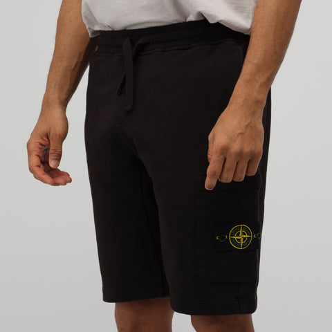 Stone Island 64651 Shorts in Black - Notre