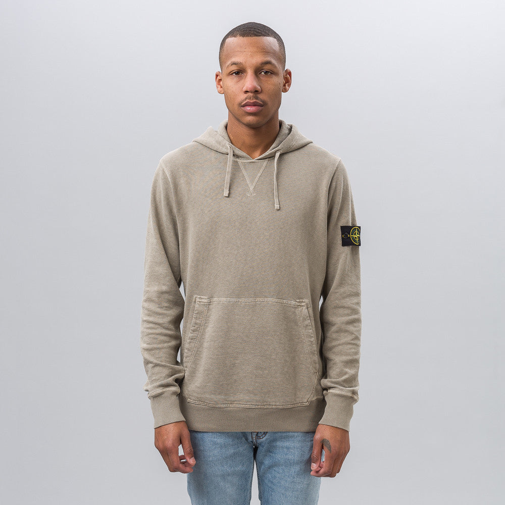 Stone Island 64960 T.CO+OLD Hooded Sweatshirt in Beige - Notre
