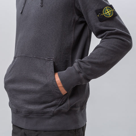 Stone Island 64960 T.CO+OLD Hooded Sweatshirt in Charcoal - Notre