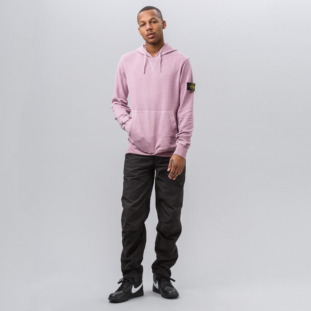Stone Island 64960 T.CO+OLD Hooded Sweatshirt in Pink - Notre