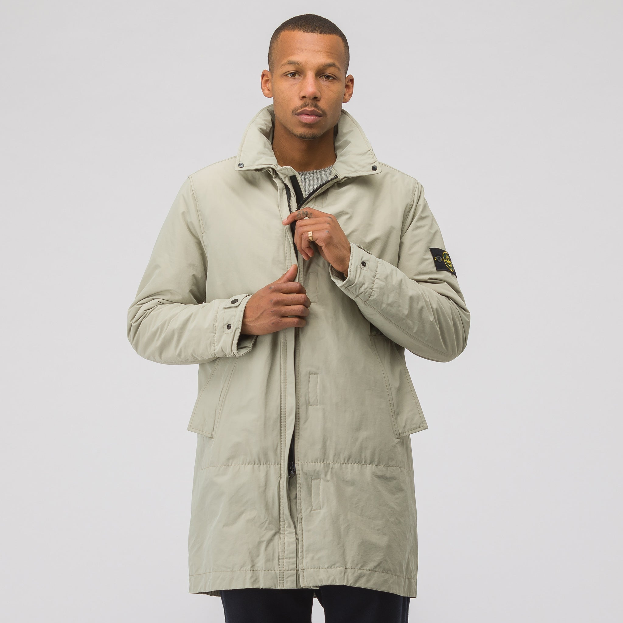 70426 Micro Reps Coat with Primaloft in Beige