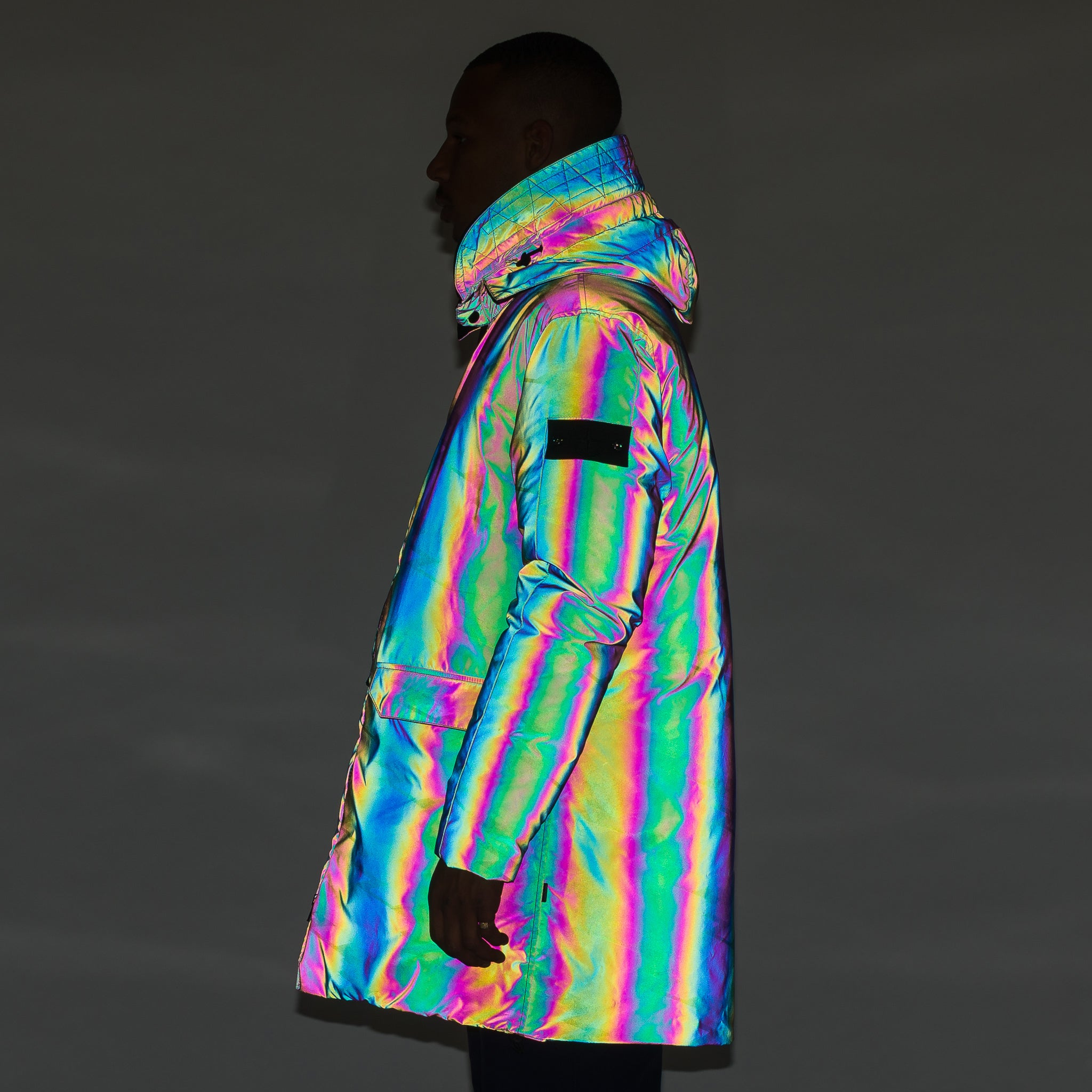 70603 Down Parka in Scarabeo