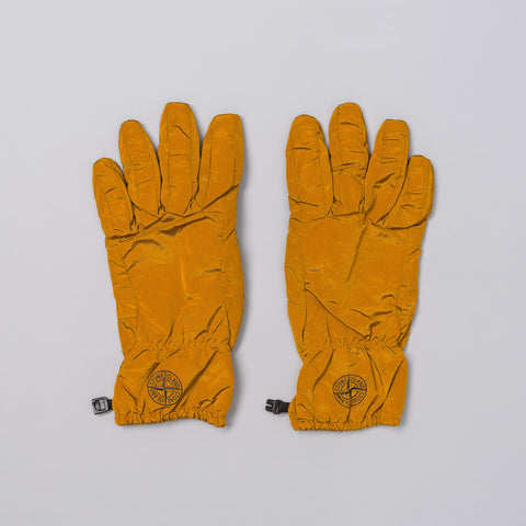 Stone Island 92069 Gloves in Burnt Sienna - Notre