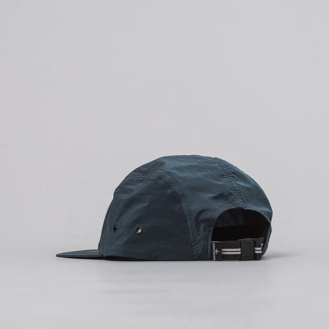 Stone Island 5-Panel Nylon Metal Cap in Blue - Notre