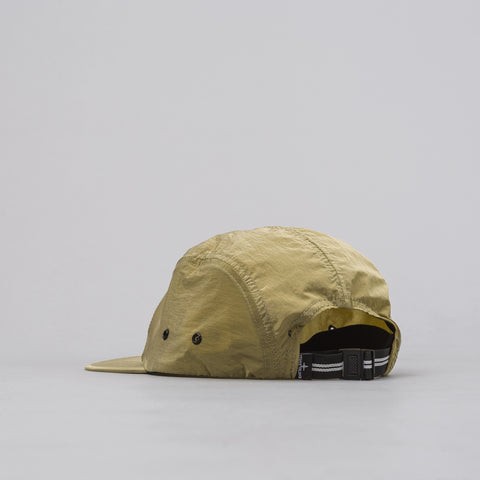 Stone Island 5-Panel Nylon Metal Cap in Olive - Notre
