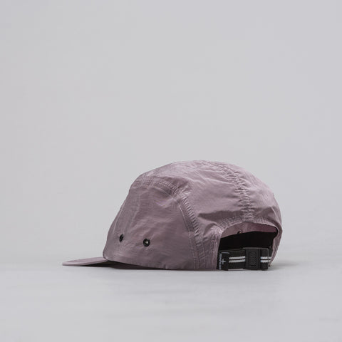 Stone Island 5-Panel Nylon Metal Cap in Pink - Notre