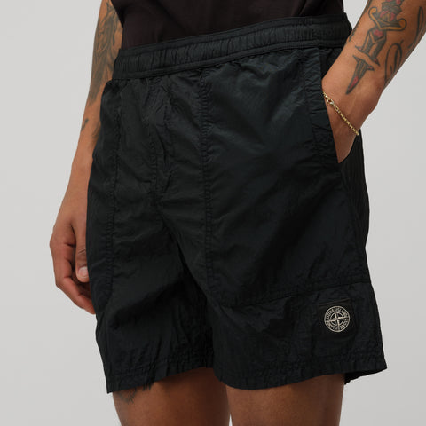 Stone Island B0519 Short in Black - Notre