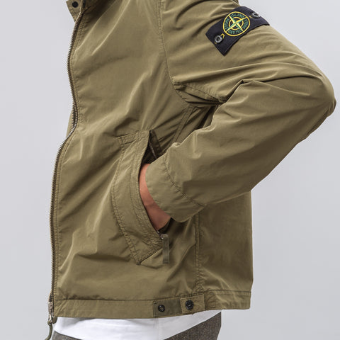 Stone Island David Tela Light TC in Olive - Notre