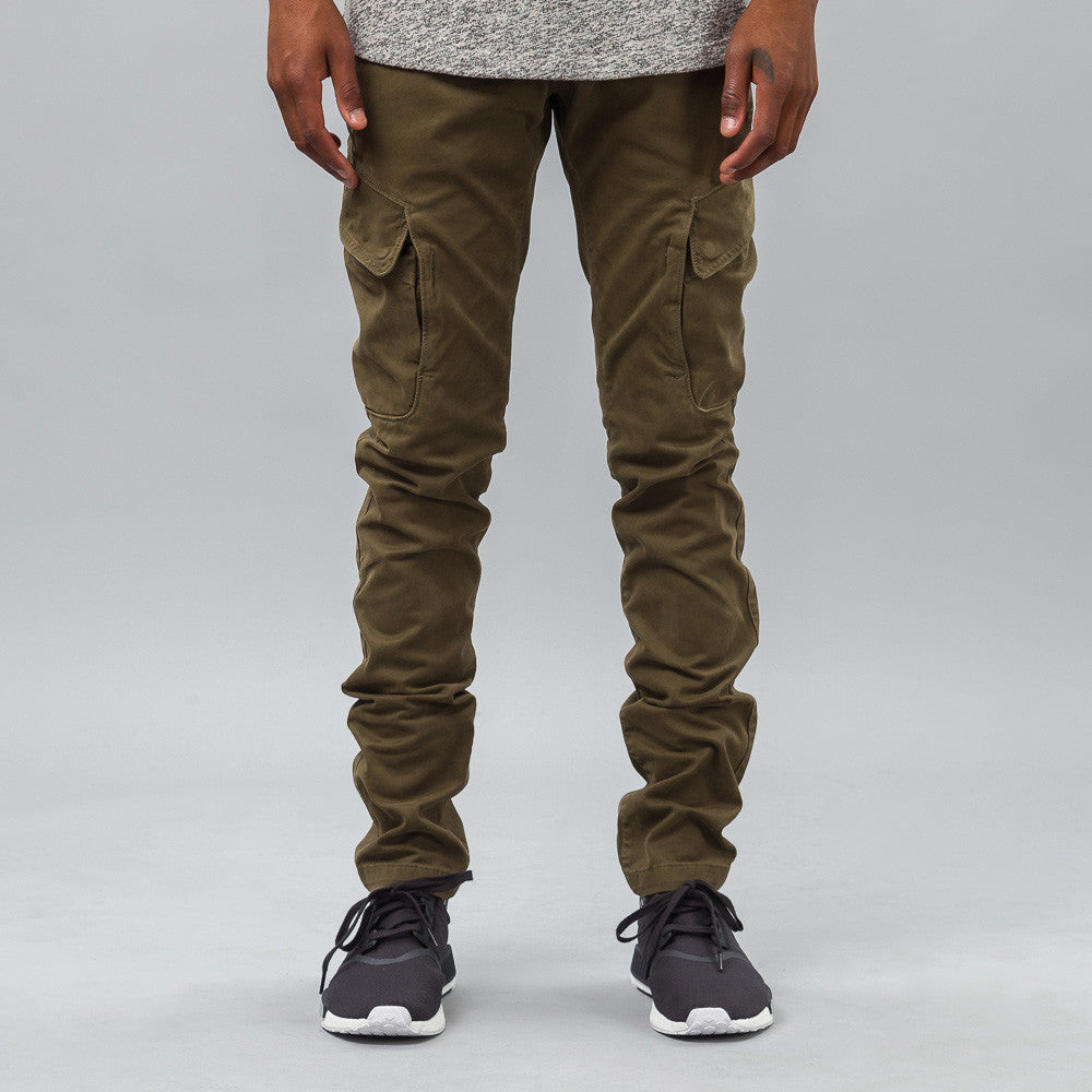 Stone Island - EZLN Pant in Olive - Notre - 1