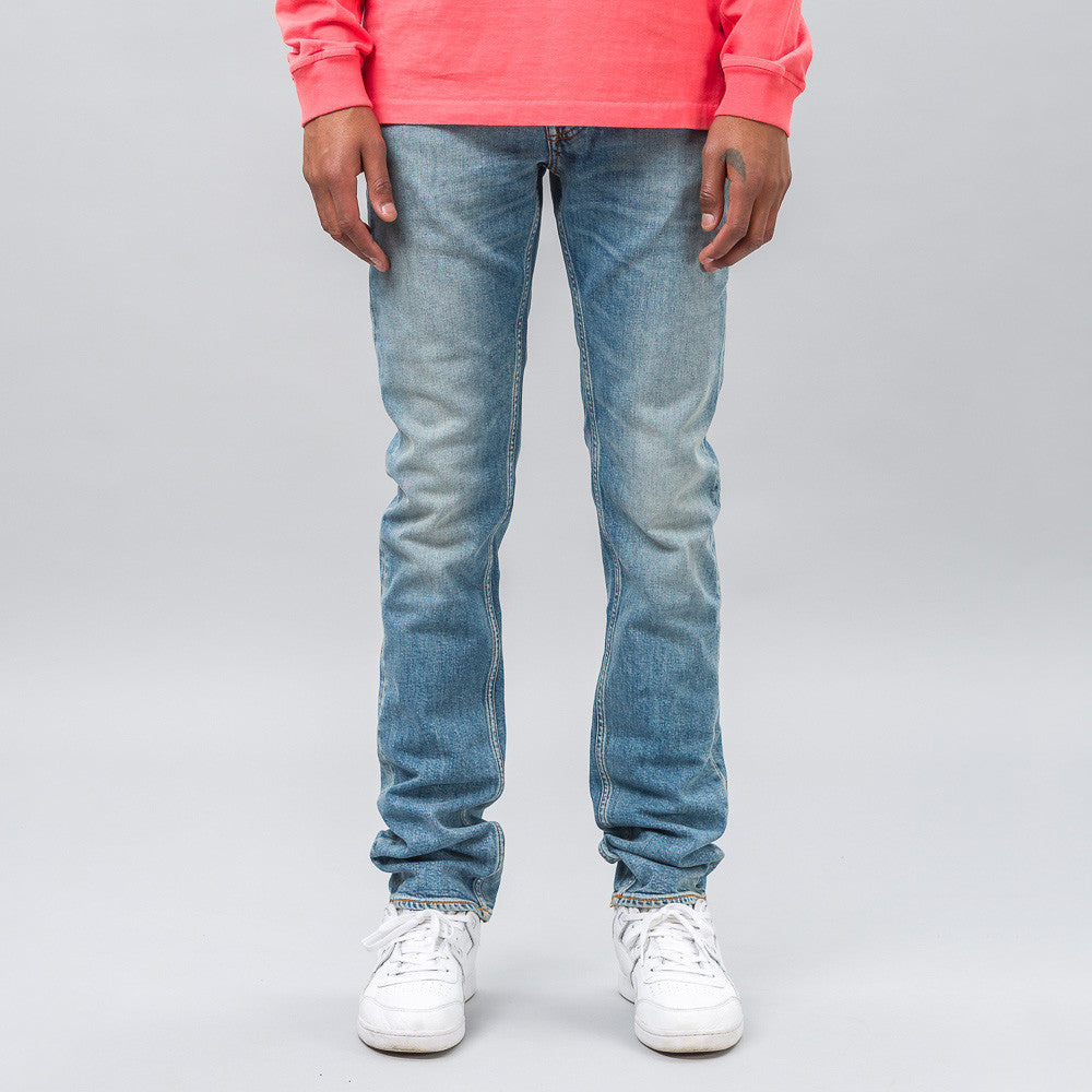 Stone Island J1BG5 5 Pocket Denim in Blue - Notre
