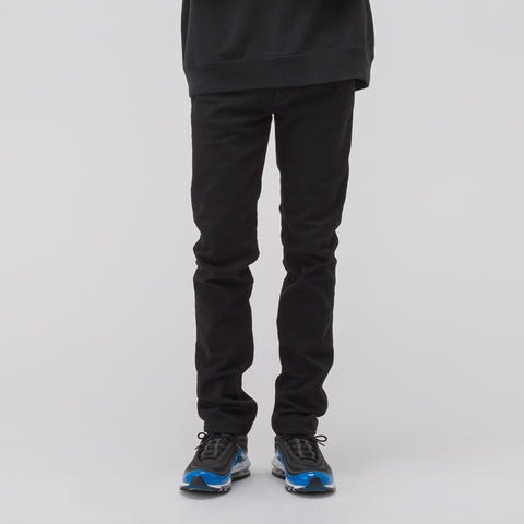 Stone Island J1BQ1 Jeans in Black Wash - Notre
