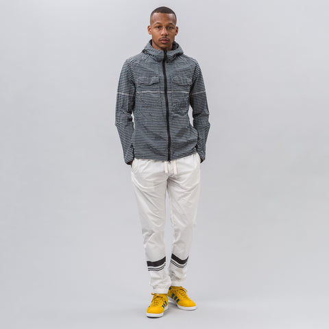 Stone Island Marina Stretch Cotton Tela Pants in White - Notre